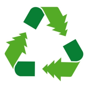 wood recycle logo